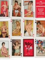 JEU 54 CARTES PIN UP - POKER - 3 Jockers - Femmes Nues, Seins Nus, - 54 Karten