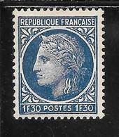FRANCE N°678 ** TB SANS DEFAUTS - Nuovi