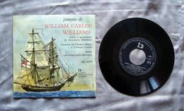 Poesie William Carlos Williams Sereni Campo Sbragia Anni 60 Disco Vinile Crepax - Collezioni