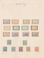 Petite Collection De Timbres Du Montenegro ( Sur Charnieres) - Montenegro