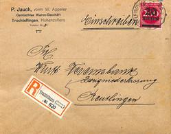 Allemagne Reich 1923  Lettre De Trochtelfingen  (G0441) - Brieven En Documenten