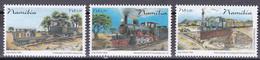 Md_ Namibia 2006 - Mi.Nr. 1209 - 1211 - Postfrisch MNH - Eisenbahnen Railways - Trains