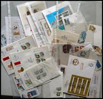 SAMMLUNGEN, LOTS Brief,o , 1977-90, Partie Diverser Ausgaben, Fast Nur Auf FDC`s, Einzelmarken Und Blocks, Pracht, Mi. 3 - Collections