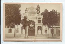 Paris Jardin Mabille Photo Sur Carton 11x16,5 - Oud (voor 1900)