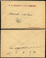 CHINA - VOLKSREPUBLIK 1953, Feldpost-Vordruckbrief Eines Sowjetischen Beraters In Der Chinesischen Armee Nach Moskau, Pr - Cartas