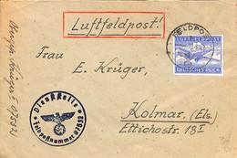 30.3.1943  Luft Feldpost   07532   (G0376) - Brieven En Documenten