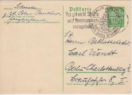 DR - Berlin-Pankow 105 Jahre Stephan SST 5.1.36 5 Pfg. Ganzsache Ortskarte - Unclassified