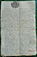 R 2  - Savoie 1721 Et Le Douze Du Mois De Juin ....belle Généralité à Déchiffrer - Historical Documents