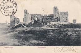 Wesenberg.Schlossruine. - Estonia