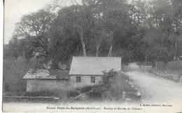 CPA SAINT-MALO-DE-BEIGNON 56 :   Moulin Et Entrée Du Chateau - Altri Comuni