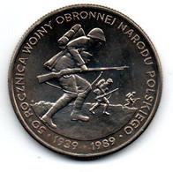 Pologne  -  500 Zlotych 1989 -  SPL - Polen