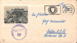 22.10.1943   Feldpost  L 14399 -  Illustree  (G0407) - Brieven En Documenten