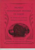 Oerlikon - Zürich Première Transmission D'énergie En Europe Au Moyen De Courants Triphasés à 30000 Volts 1903 - Machines