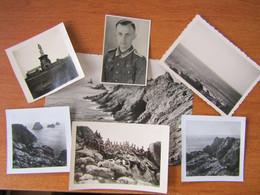 WW2 POINTE DU RAZ SOLDATS ALLEMANDS SOUVENIRS DE LA POINTE FRITZ REINHARD 1940 1941 - Plogoff