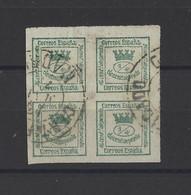 ESPAGNE .  YT  N° 140  Obl  1873 - Usados