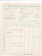 59-Lucy Ribemont..La Cotonnière, Retorderie De Coton, Teinture... Caudry..(Nord)..1957 - Vestiario & Tessile