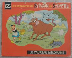 Sylvain Et Sylvette - Le Taureau Mélomane - N°65 - Sylvain Et Sylvette