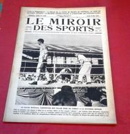Miroir Des Sports N°149 Mai 1923 Georges Carpentier,Coupe De France Red Star Cette,Magne Tour De Belgique Cycliste - Sport
