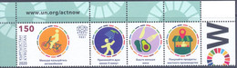 2020. Kyrgyzstan, UN Campaign Against Climate Change Act,1v With Labels, Mint/** - Kyrgyzstan