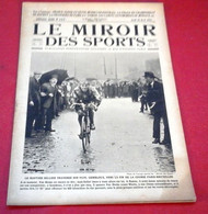 Miroir Des Sports N°147 Avril 1923 Sellier Paris Bruxelles,Courses Canots Atomobile Monaco,Sivocci Boillot Targa Florio - Sport
