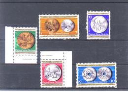 Papua New Guinea Scott 410-14 Coins Mint Unhinged (290) - Papua Nuova Guinea