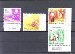 Papua New Guinea Scott 746-49 Music Mint Unhinged (297) - Papua Nuova Guinea
