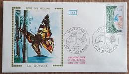 FDC 1976 - YT N°1865A - GUYANE - CAYENNE - 1970-1979