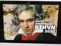 2020 Malta , 250th Anniversary Birth Of Ludwig Van Beethoven Mini Sheet MNH VF SG2158 - Malta