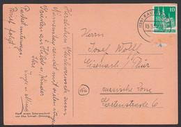 Kaufbeuren 10 Pfg. Kölner Dom Und NO, Ungültig In Die DDR Eisenach Und Entfernt  13.3.50 - Covers & Documents