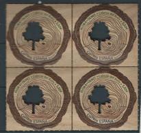ESPAGNE SPANIEN SPAIN ESPAÑA 2020 TREES FLORA. OLMO. CABEZA DEL BUEY BLOQUE 4V MNH ED 5431 MI 5470 YT 5172 - 2011-... Unused Stamps