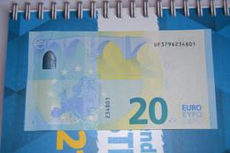 20 EURO U032 I6 - FRANCE -  UF3796234801 - UNC FDS NEUF - 20 Euro