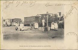 Arrivée Du Train Du Gouverneur En Gare De KITA - Mali