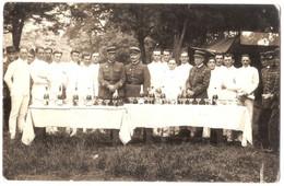 CPP 299 - CARTE PHOTO - MILITARIA - Les Escrimeurs Du 95e Régiment D'Infanterie De Bourges - 4 Juin 1937 - Bourges