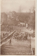 SOIGNIES - La Retraite Allemande 1918 Carte Rare - Soignies