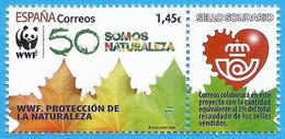 España. Spain. 2020. Sello Solidario. WWF. Protección De La Naturaleza - Milieubescherming & Klimaat