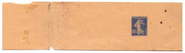 YVERT BANDE JOURNAUX 279-BJ1 Semeuse 10 Cts Bleu SANS DATE IMPRIMEE - Striscie Per Giornali