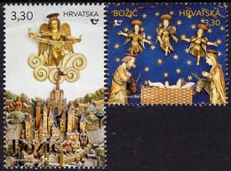 Croatia - 2020 - Christmas - Mint Stamp Set - Croatia