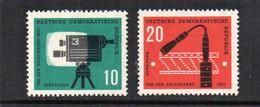 1961 D.D.R.  Mi  N° 861/862   **  MNH -  NEUF -  POSTFRISCH - Unused Stamps