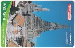 THAILAND E-975 Prepaid CyberPoint - Culture, Temple - Used - Thaïland