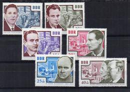 1964  D.D.R.  Mi  N° 1014/1019  **  MNH -  NEUF -  POSTFRISCH - Unused Stamps