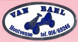 Sticker - VAN BAEL - Houtvenne - Go-cart - Pegatinas