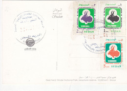 Post Card SUDAN ELSETTEN POST OFFICE CDS 2020 #2 - Sudan (1954-...)
