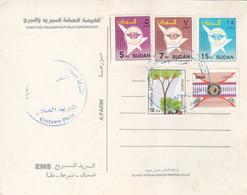Post Card SUDAN ELSETTEN POST OFFICE CDS 2020 #5 - Soedan (1954-...)