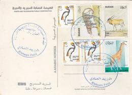 Post Card SUDAN ELSETTEN POST OFFICE CDS 2020 #11 - Soedan (1954-...)