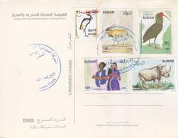 Post Card SUDAN ELSETTEN POST OFFICE CDS 2020 #13 - Soedan (1954-...)
