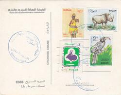 Post Card SUDAN ELSETTEN POST OFFICE CDS 2020 #14 - Soedan (1954-...)