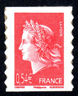 FRANCE 2007 - Autoadhésif Yvert N° 139 NEUF, Marianne De Cheffer - Autoadesivi