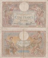 France / 100 Francs / 1939 / P-86(b) / VF - Unclassified