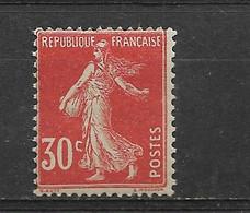FRANCE    N° 160   **  NEUF SANS CHARNIERE - 1903-60 Semeuse Lignée