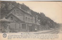 Marche-les-Dames ,( Namur ), La Gare  ,( Intérieur , Train , Statie , Station )Voir Verso Institut D'éducation Familiale - Namur